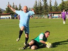 Fotbalisté starých gard odehráli zápasy dalšího kola.