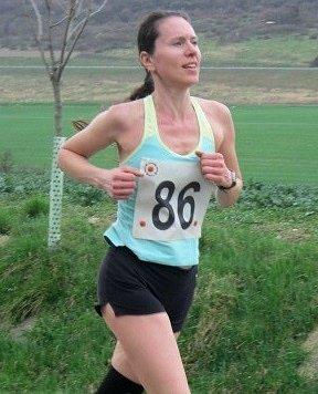 TŘETÍ. Veronika Vágnerová (Spona Teplice) skončila mezi ženami třetí.