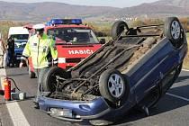 Nedělní nehoda u Bílinky