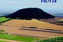 """PŘEDNÍ STRANA obálky DVD s dokumentárním filmem """"Magická hora"""", který propaguje horu Říp."""