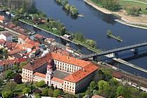 Roudnice nad Labem s tamním zámkem