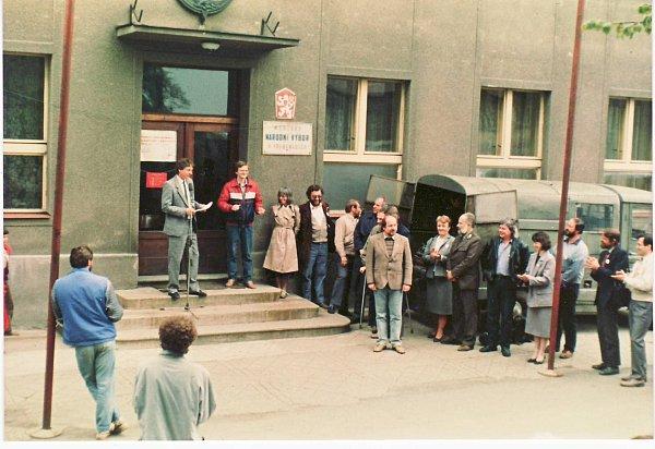 Listopad 1989 - Třebenice