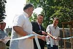 Slavnostní otevření parku Josefa Hory v Roudnici nad Labem.