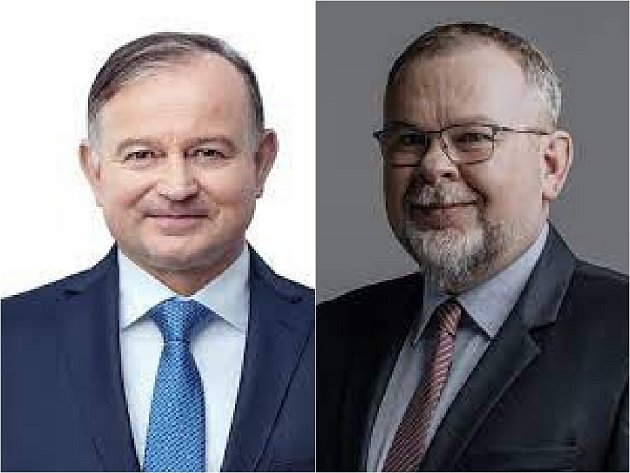 Zleva Karel Krejza a Petr Liška