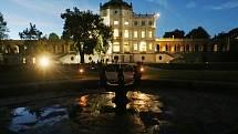 Mezi hojně navštěvované památky patří na severu Čech ploskovický zámek.