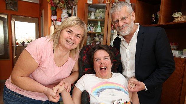 Handicapovaná Kristýna z Litoměřic