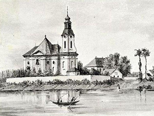 Historický obrázek z Počapel.