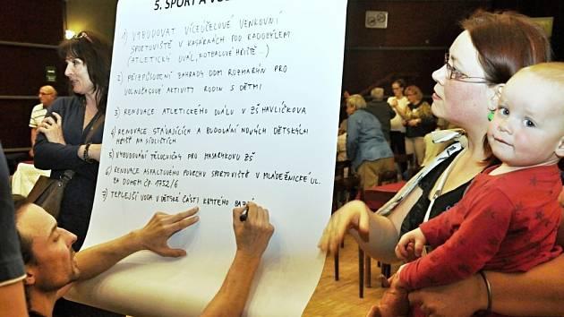Veřejná diskuze Desatero problémů Litoměřic.
