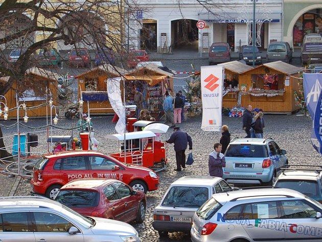 Vánoční trhy v Litoměřicích.