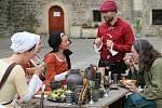 Z tradiční akce, která se odehrála na Vodním hradu v Budyni nad Ohří.