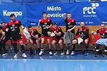 Čtvrtfinále play-off házenkářské extraligy Lovosice - Frýdek-Místek.