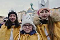 V pátek 4. ledna v podvečer požehnal litoměřický biskup Jan Baxant tříkrálové koledníky.