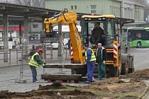 Rekonstrukce litoměřického autobusového nádraží