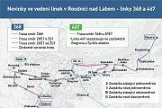 Nové jízdní řády na Litoměřicku.