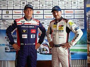 Adama Lacko (vlevo) a David Vršecký.