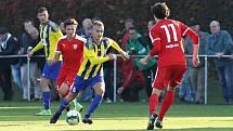 Utkání Brozan (v červeném) proti Litoměřicku