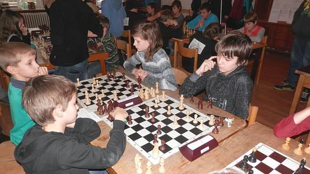 Žákům Masarykovy základní školy se dařilo také v šachovém turnaji.