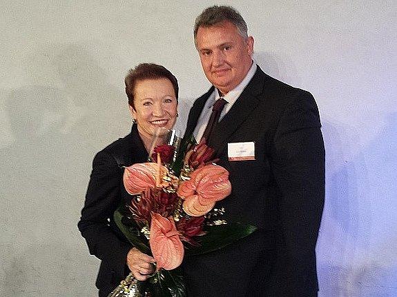 Ředitel terezínského domova seniorů Jiří Dušek získal ocenění.