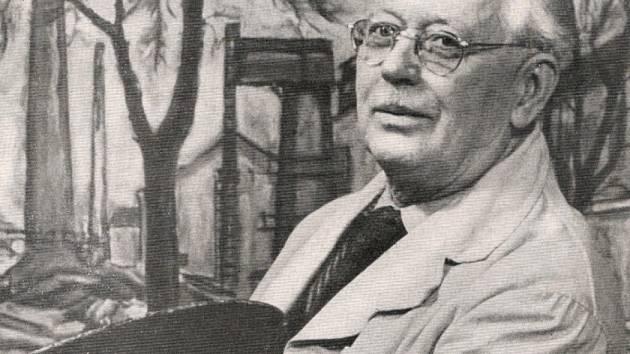 Antonín KALOUS (1884 - 1960) ředitel reálného gymnázia, malíř.