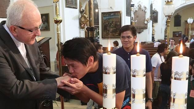 Mladí křesťané z Filipín přijeli do Litoměřic