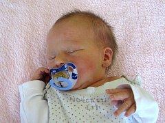 Lucie Olasová se narodila Alexandře Olasové  z Vrbičan 18.10. v 6.03 hodin v Litoměřicích  (48 cm a 2,94 kg).
