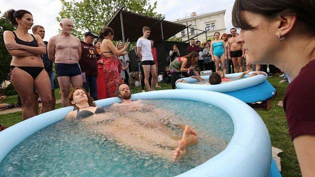 Litoměřický Allfestu 2019 a ledová koupel