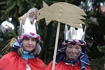 V Roudnici nad Labem požehnali tříkrálovým koledníkům.
