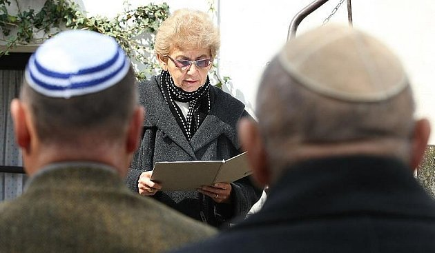 V Terezíně zazněla jména Židů, kteří zemřeli v ghettu.