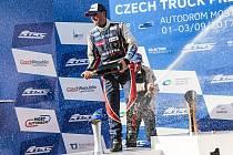 David Vršecký se v Mostě dostal na stupně vítězů.