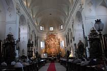 Katedrála sv. Štěpána v Litoměřicích.