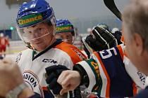 Hokejové utkání mezi Litoměřicemi a Porubou, 51. kolo Chance ligy 2018/2019, Stadion Litoměřice ilustrační foto
