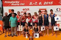 VESLAŘI Slavoje byli ve vítězné posádce na letošních Primátorkách.
