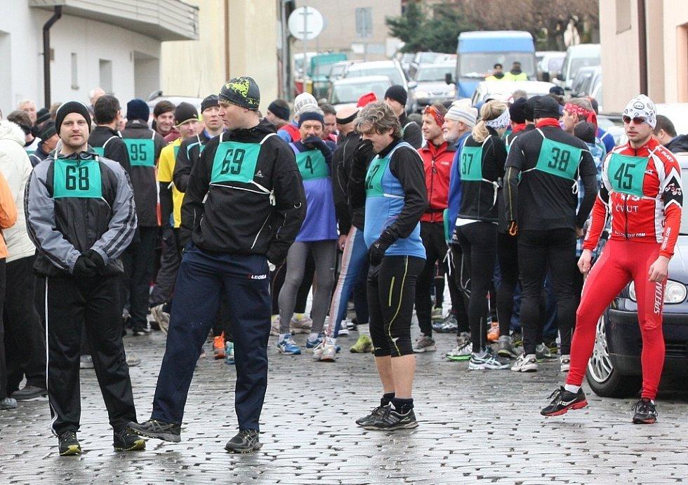 Silvestrovský běh od Hasy k Hase v Roudnici.
