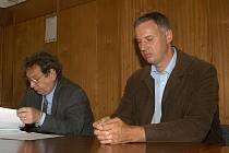 Hlavní soudní líčení s Petrem Hagerem 4. září 2006.