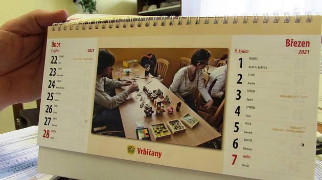 Vrbičany vydávají každý rok obecní kalendář.