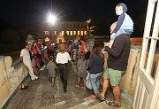 Hradozámecká noc v Ploskovicích