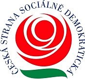 Logo ČSSD.