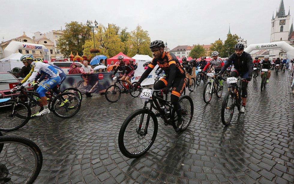 V Litoměřicích startovaly závody MTB Tour České středohoří