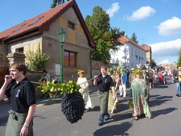 Třebívlické vinobraní 2013