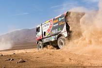 Martin Kolomý bojuje na Dakaru o co nejlepší umístění v elitní desítce.