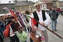 Velikonoční jarmark v Úštěku - 3. 4. 2010.