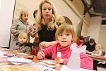 Burza základních škol v Litoměřicích se konala v pondělí v gotickém hradu.