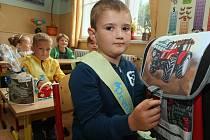 Noví prvňáčci přišli také do ZŠ Masarykova v Litoměřicích