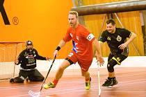 VETERÁNI ASK v boji o postup do semifinále s budoucím vítězem turnaje IBK Lockerud Veterans.