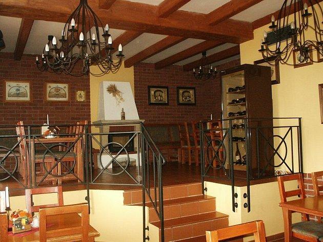 Penzion a restaurace Oáza ve Štětí.