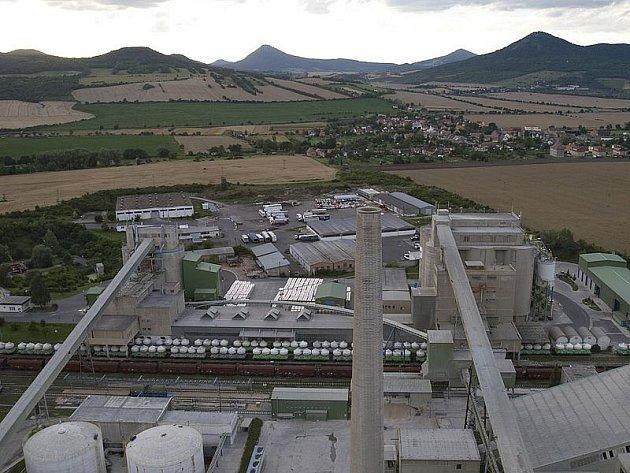 Čížkovická cementárna.
