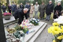 Pietní akt na litoměřickém hřbitově