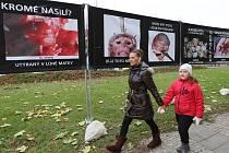 Výstava o potratech v Litoměřicích
