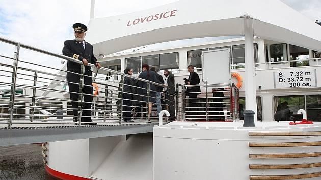 Otevření nového přístaviště v Lovosicicích