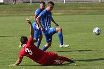 Fotbalový zápas Štětí a Ostrov